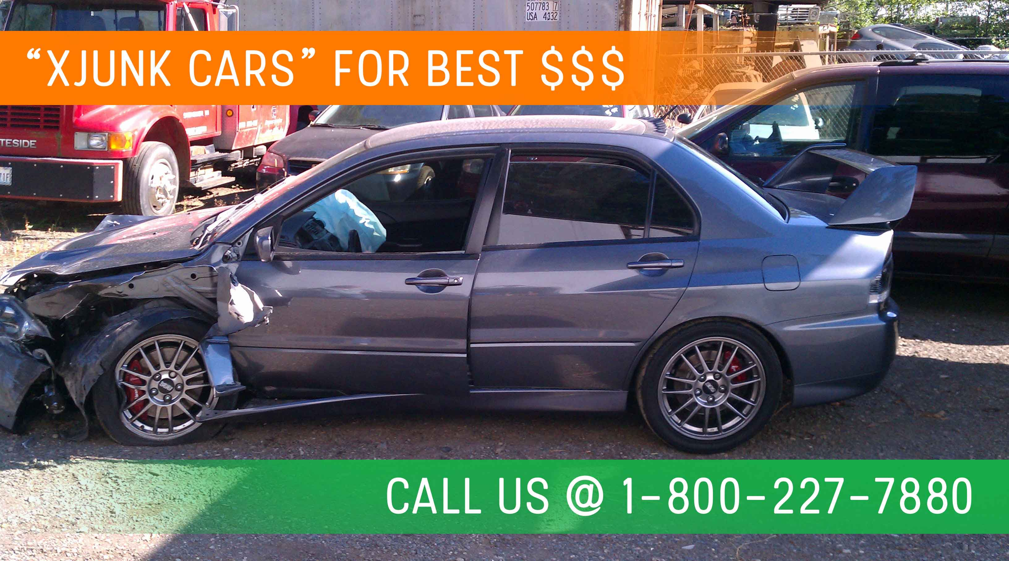 Cash for Junk Cars, Orange and Los Angeles County-- 424 277 0006